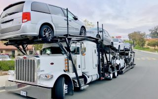 Having your new car delivered to your home