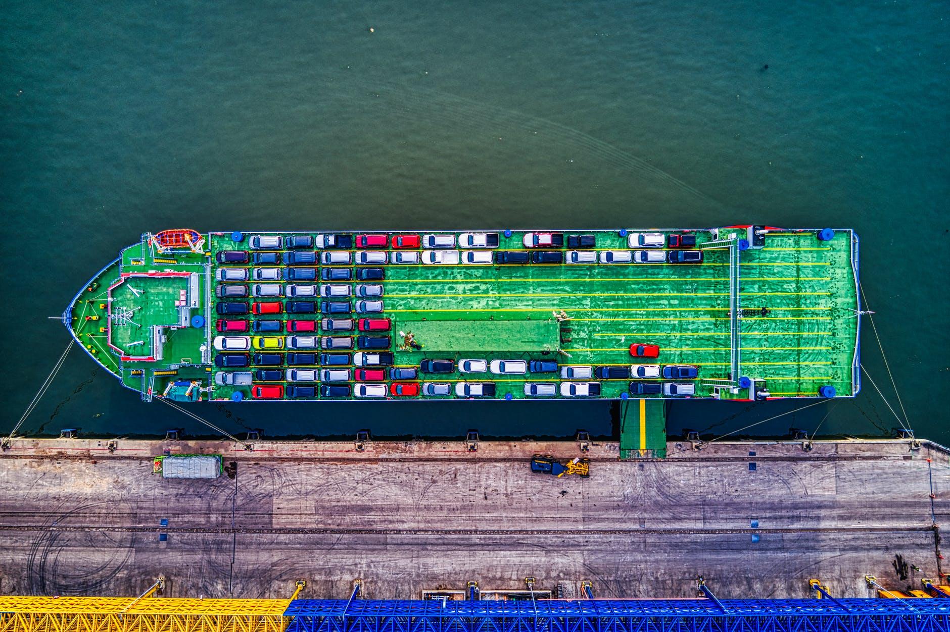 shipping car overseas
