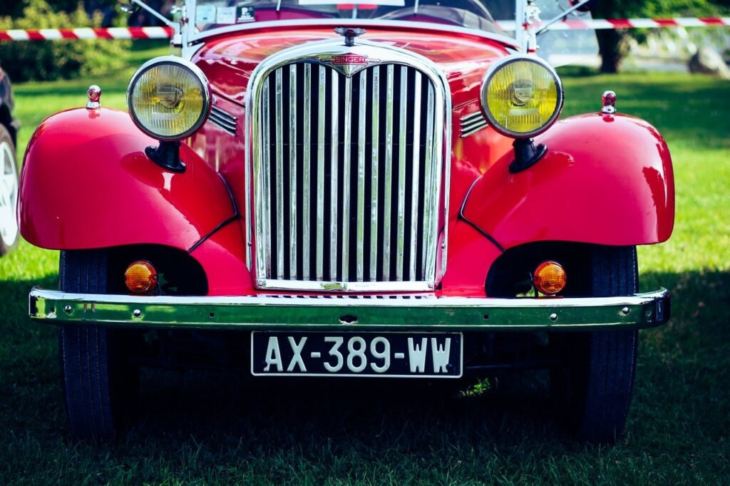 collecting vintage cars